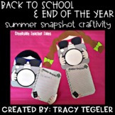 Back to School & End of the Year Summer Snapshot Craftivity