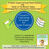 Back to School Bundle {Student Organizer & Executive Funct