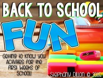 Back to School Fun