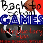 Back to School Games: Some Good Ole Introductory Fun