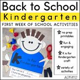 Back to School Kinders!