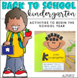 Back to School Kinders!