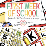 The First Week of School: Back to School Resources