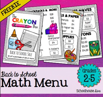 https://www.teacherspayteachers.com/Product/Free-Back-to-School-Math-Menu-2nd-5th-1797462