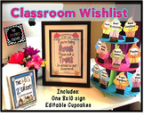 Back to School/ Open House Classroom Wish List: Sweet Cupc