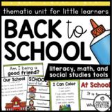 Back to School: Preschool, Pre-K and Kindergarten Resources