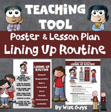 Beginning of the Year Back to School Procedures for Lining Up