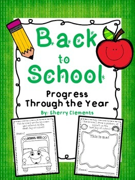 Back to School: Progress Through the Year - (P, K, 1st, 2nd)