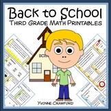 Back to School Quick Common Core (3rd grade)
