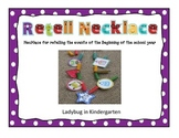 Back to School Retell Necklace