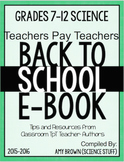 Back to School Science eBook for Grades 7-12 (2015-16 scho