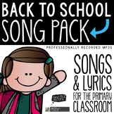 Back to School Songs + More