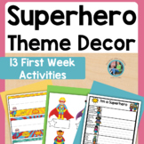 Back to School (Super Hero) Taking Off On An Adventure Pack