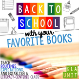 [Back to School] Unit With Your Favorite Books: Routines &