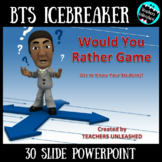 Back to School Would You Rather PowerPoint Game 2