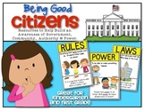 {Back to School} and Being Good Citizens! ...for Kindergar