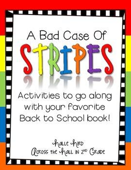 "Back to School with ""A Bad Case of Stripes"""