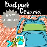 Backpack Bonanza- Back to School Primary Fun