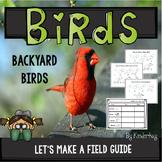 Backyard Birds Lets Make a Book