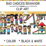 Bad Choices Clip Art