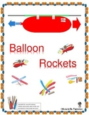 STEM Activity Balloon Rockets - Newton's Third Law of Motion