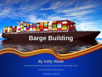 Barge Building ~STEM