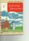 Barnell Loft Following Directions F