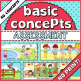 Basic Concepts Assessment.