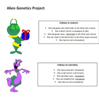Basic Genetics Project- Alien Genetics