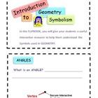 Basic Geometry Symbols Flipbook