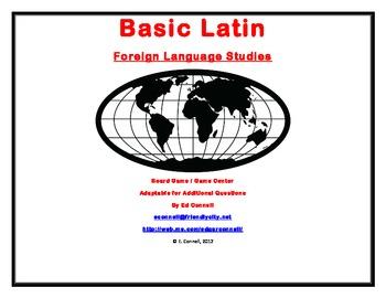 Basic Latin Board Game