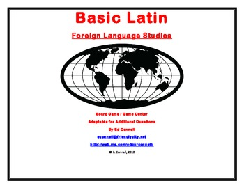 Basic Latin Board Game