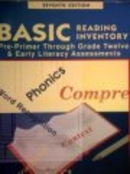 Basic Reading Inventory, 7th edition