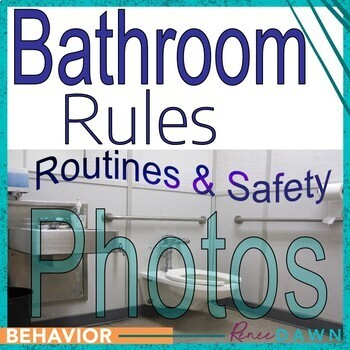 https://www.teacherspayteachers.com/Product/Bathroom-Rules-Bathroom-Photos-Signs-Safety-1930120