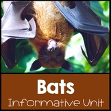 Bat Unit: Going Batty Over Bats: Common Core Aligned