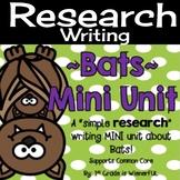 Bats Mini Unit ~ Informational Text mini unit about bats f