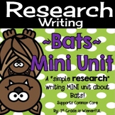 Bats Mini Unit ~ Informational Text mini unit about bats f