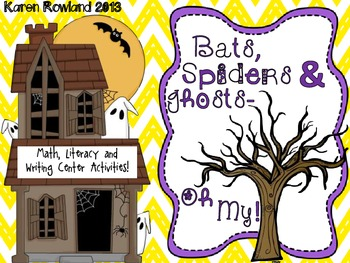 Bats, Spiders and Ghosts - Oh My!