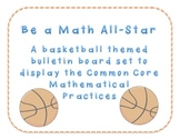 Be A Math-All Star Bulletin Board Set of Common Core Mathe