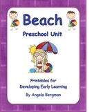 Beach Preschool Unit