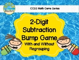 Beach Themed 2 Digit Subtraction With Regrouping Bump Game