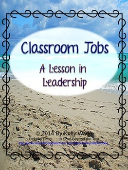 Beach Themed Classroom Jobs: A Lesson in Leadership