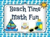 Beach Time Math Fun!