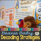 Beanie Baby Decoding Strategy Posters