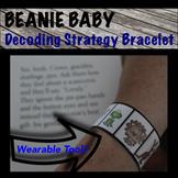 Beanie Baby Inspired Decoding Strategies Bracelets