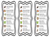 Beanie Baby Inspired Strategies Bookmarks