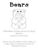 Bears:  Literacy and Math Center Fun
