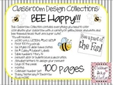 Bee Happy: Classroom Design Set EDITABLE