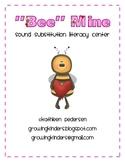 """Bee Mine"" {Phoneme Substitution Literacy Center}"