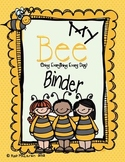 Bee Organizational Binder
